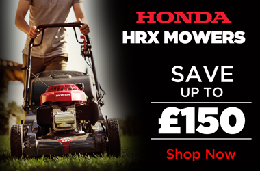 View Honda HRX Lawnmower Range