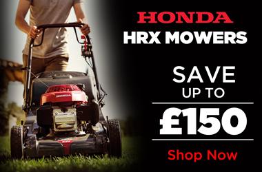 View Honda HRX Lawnmower Range