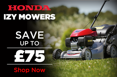 View Honda IZY Lawnmower Range