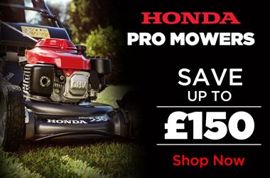 View Honda Professional Lawnmower Range