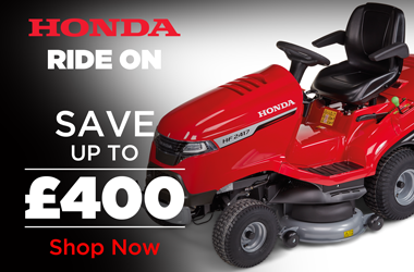 View Honda Ride-On Lawnmower Range