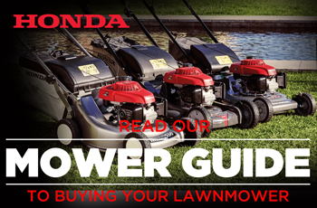 Read our guide to buying a Honda Lawnmower
