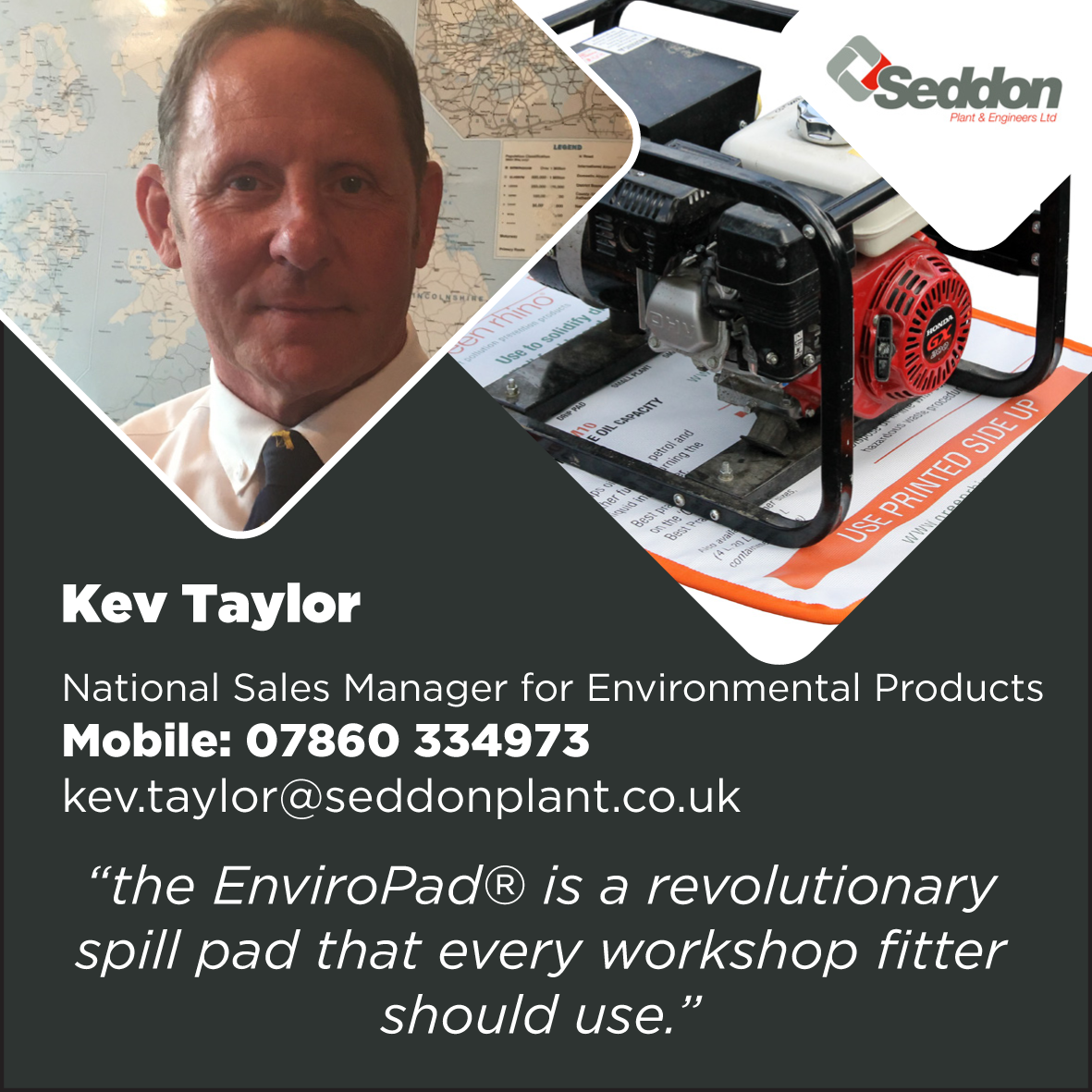 Kev Taylor spearheads EnviroPad®