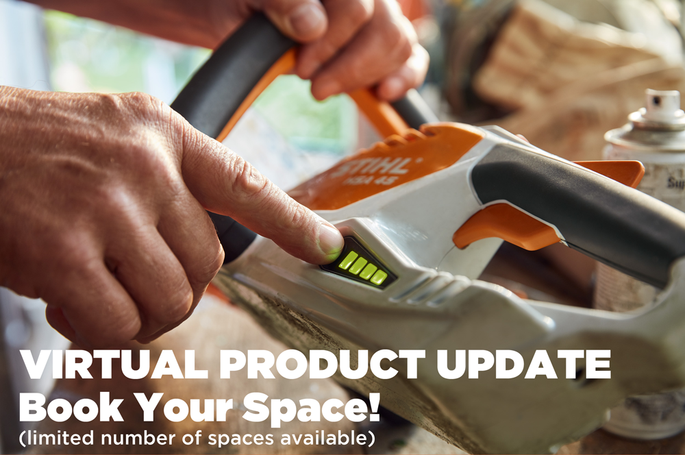 Book Your Space With STIHL & Win!