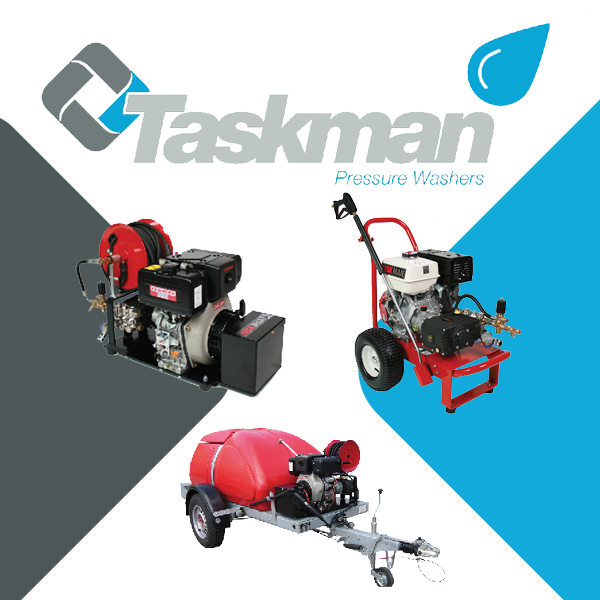 The TASKMAN Pressure Washer Range