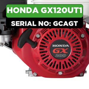 Honda GX120UT1 (GCAGT) Engine Parts