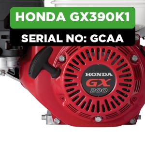 Honda GX390K1 (GCAA) Engine Parts