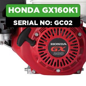 Honda GX160K1 (GC02) Engine Parts