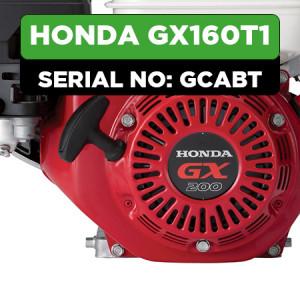 Honda GX160T1 (GCABT) Engine Parts