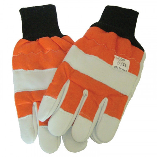Chainsaw Gloves Left Hand Protection - Class 0