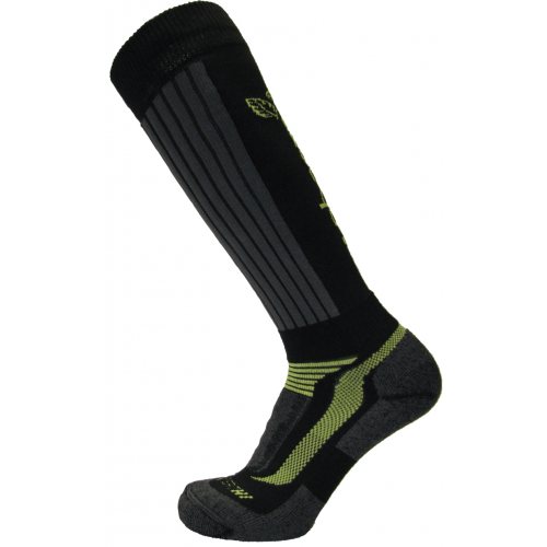 AT3810 XPERT HI SOCK BLACK/LIME