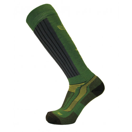 AT3812 XPERT HI SOCK GREEN/GREY