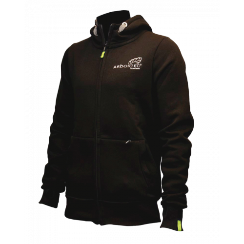 AT4020 ABORTEC Zip Front Hoodie - Black