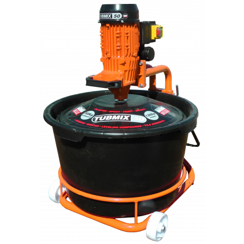 BELLE TUBMIX 50 Electric 110v Mixer with Bucket