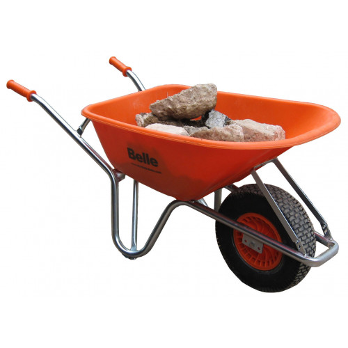 BELLE WARRIOR Wheelbarrow with 100 Litre Tray
