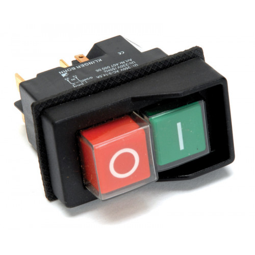 Belle 110V Switch for Minimix 150 Cement Mixer  - Black (04/2002 to 04/2007) - 700202