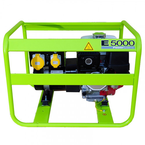 Pramac E5000 Petrol Generator 5.1/4.2KVA (GX270)