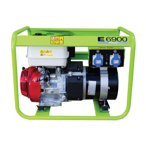 Pramac E6900 Petrol Generator 7.15/6.08KVA (GX390)
