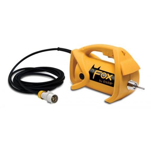 "ENAR Fox Electric 115v Vibrating Poker with 2""/50mm Poker Flex"