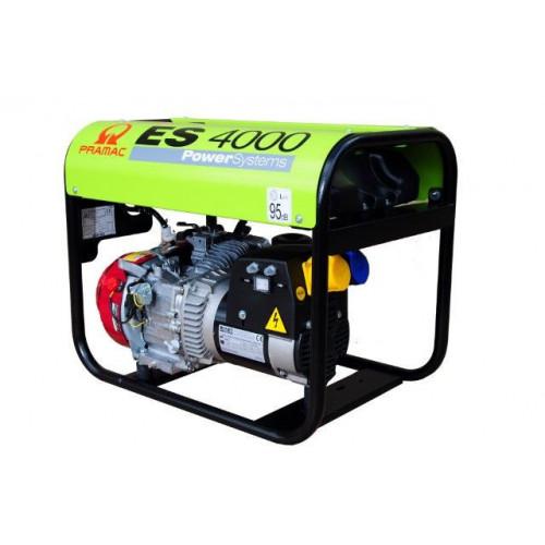 PRAMAC ES4000 Pro Petrol Generator 3.4/2.9KVA Long Run Tank (GX200)