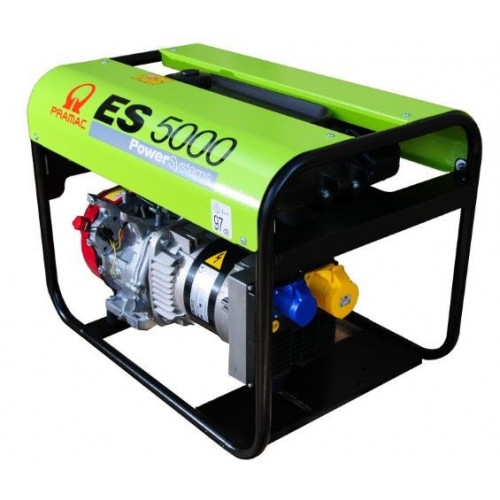 PRAMAC ES5000 Pro Petrol Generator 5.1/4.2KVA Long Run Tank (GX270)