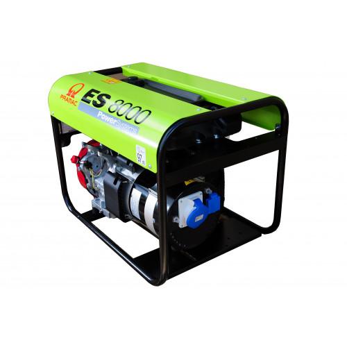 PRAMAC ES8000 Pro Petrol Generator 7.2/6KVA Long Run Tank + AVR (GX390)