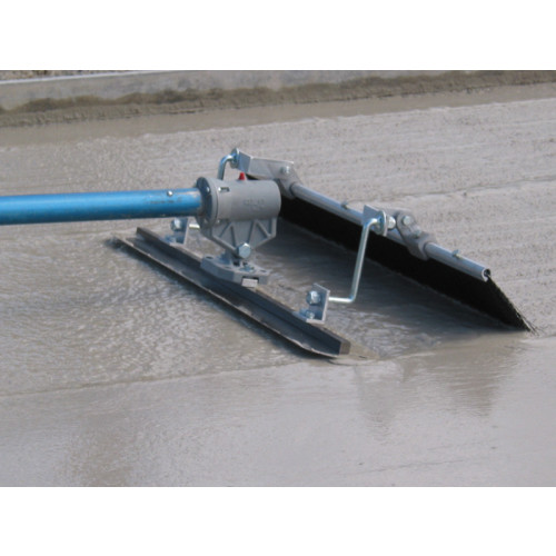 MBW Fresno 3 Ft Broom Concrete Finishing Tool