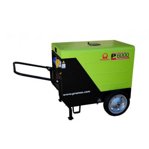 PRAMAC P6000 Diesel Generator 5.9/4.8KVA inc. Wheel Kit (L100)