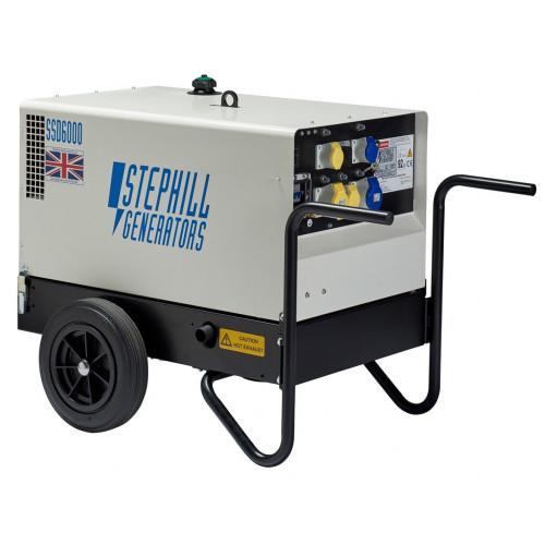 STEPHILL SSD6000 6 Kva S/Silent Diesel Generator  (L100V ES)