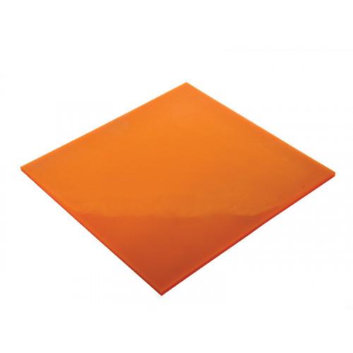 Orange Polyurethane Drain Cover 46cm x 46cm