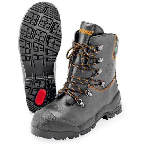 STIHL Function Leather Chainsaw Boots - Class 1