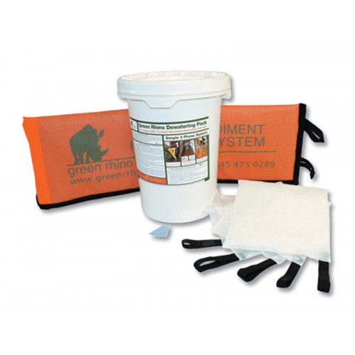 GREEN RHINO® 5 Pillow Dewatering Pack