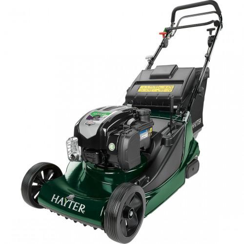 "HAYTER HARRIER 48 AD 19""/48cm Petrol Lawnmower with Rear Roller"