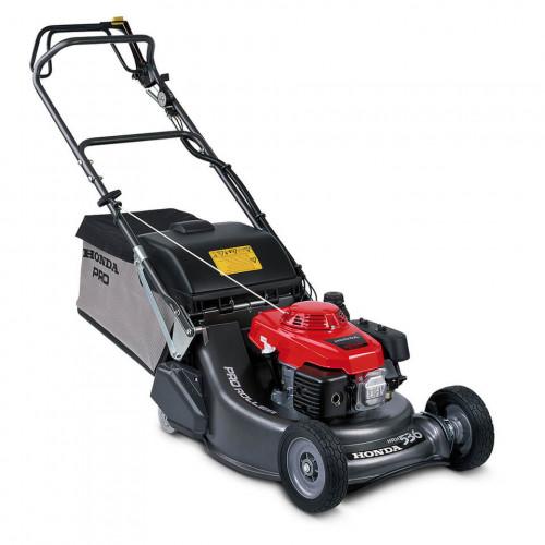 "HONDA HRH 536 QX 21""/53cm Petrol Self Propelled Rear Roller Lawnmower"