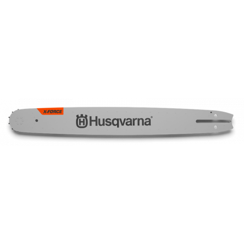 "HUSQVARNA 1.5mm 3/8 18"" X-Force Chainsaw Guide Bar"