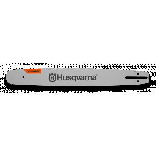 "HUSQVARNA 1.5mm 3/8 18"" X-Force Chainsaw Guide Bar"