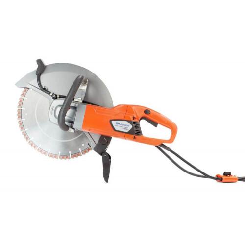 "HUSQVARNA K4000 14""/350mm Wet & Dry 110v Electric Disc Cutter"
