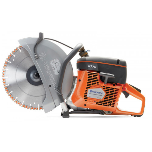 HUSQVARNA K770 POWER CUTTER WITH TACTI-CUT BLADE
