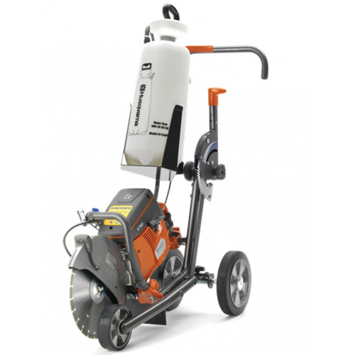 HUSQVARNA K760 Cart with Water Bottle