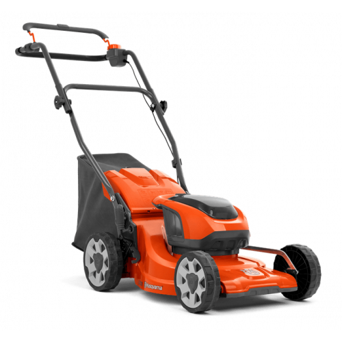 "HUSQVARNA LC137I 15""/37 Cm Cordless Push Lawnmower Kit - Package"
