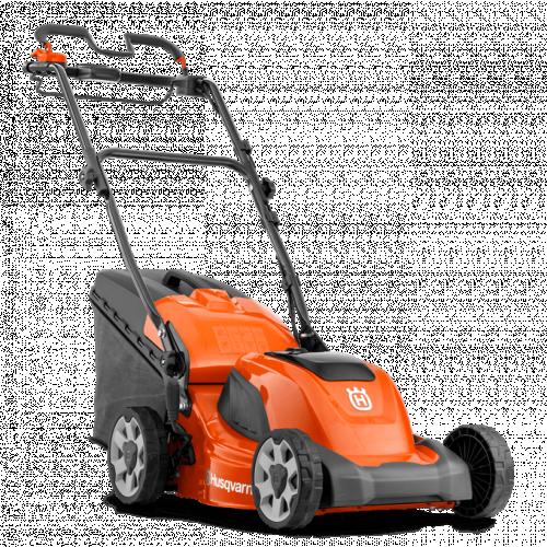 "HUSQVARNA LC141I 16""/41 Cm Cordless Push Lawnmower Kit - Package"