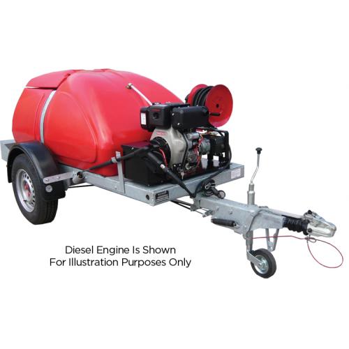 TASKMAN BW170 PH15 Petrol Bowser Pressure Washer - 2250 PSI