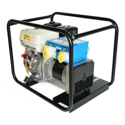 TASKMAN G5000HNP 4 kW Petrol Generator with Metal Control Box