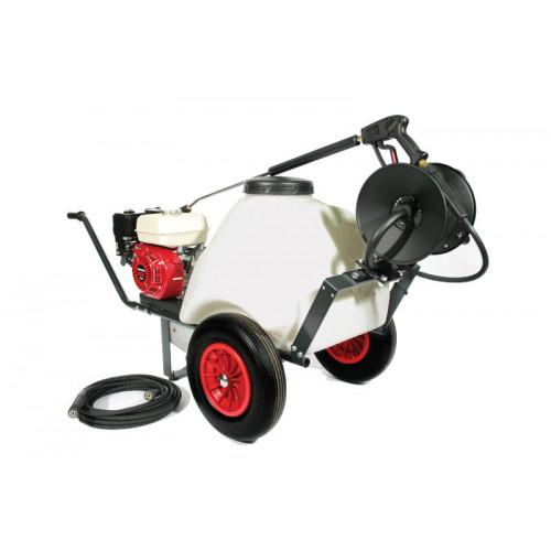 TASKMAN PW150 PH8 Petrol 120 Litre Mini Bowser Pressure Washer - 2250 PSI