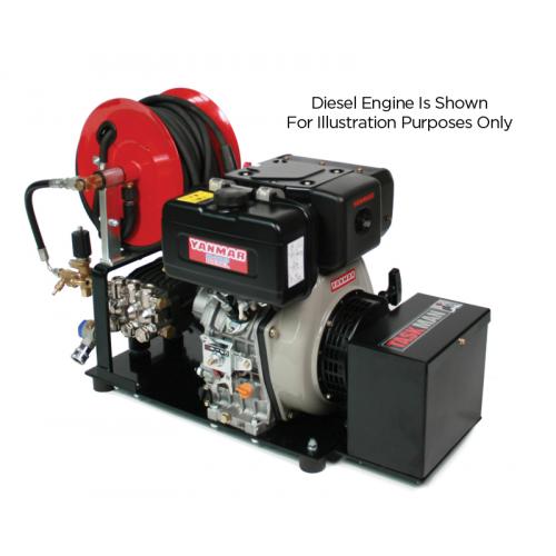 TASKMAN PW200 PH15 Petrol Plate Mounted Pressure Washer - 3000 PSI