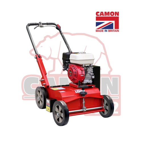 "CAMON LS42 42cm (17"") Petrol Lawn Scarifier (Honda GX160) free swinging blades"