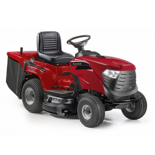 """MOUNTFIELD 1638H 38""""/98cm Petrol Ride On Lawnmower - Hydro/Collection Box"""