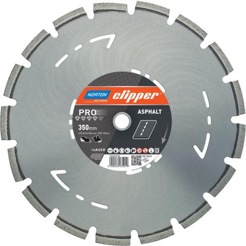 "Norton Clipper 14"" Pro Asphalt Diamond Blade 350mm"