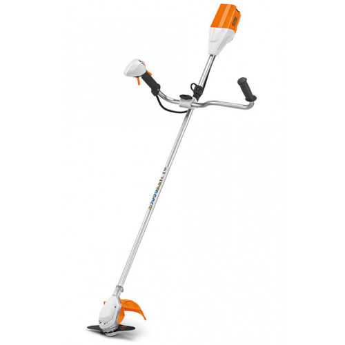 STIHL FSA 90 Cordless Grass Trimmer with Bike Handle - Body Only