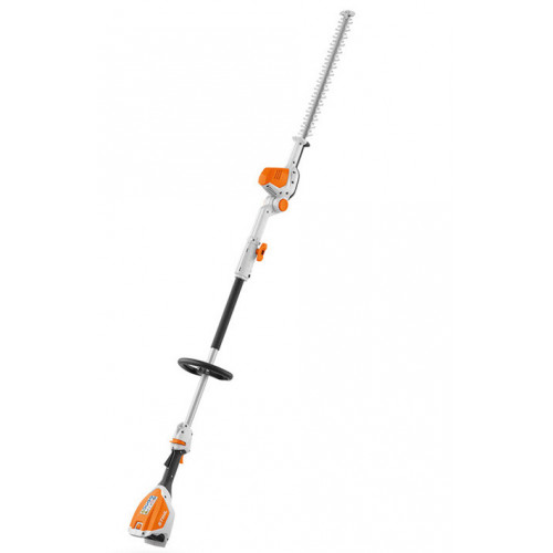 STIHL HLA 56 Cordless 135° Adjustable Long Reach Hedge Trimmer - Package